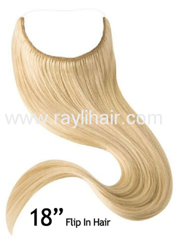 Factory Wholesale One Piece Clip in human hair extensions